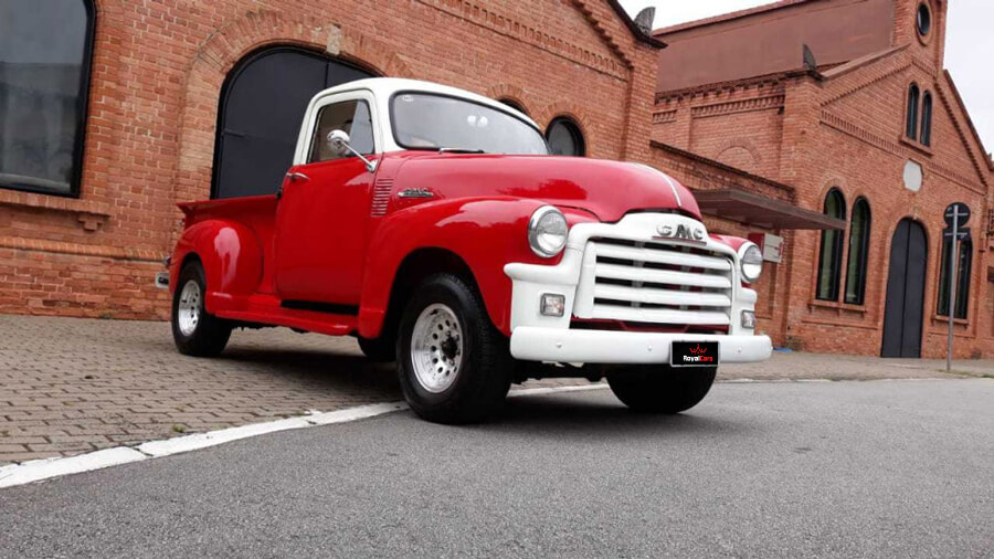 GMC Pick Up Sedan 1954